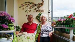 l_bgl-fotoaktion_dsc01401-1 BGL - Unter unserm Dach - 2 Kinder, 4 Enkel, 6 Urenkel: Die Grünauer Edeltraud und Dieter D. sind Familienmenschen